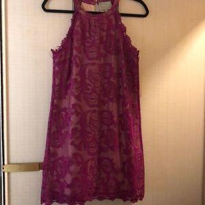 Purple SKIES ARE BLUE dress
